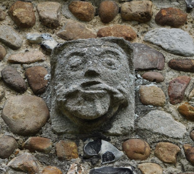 Gargoyle from the village church
